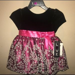 Love Infant & Toddler Girls Party Dress 12 months